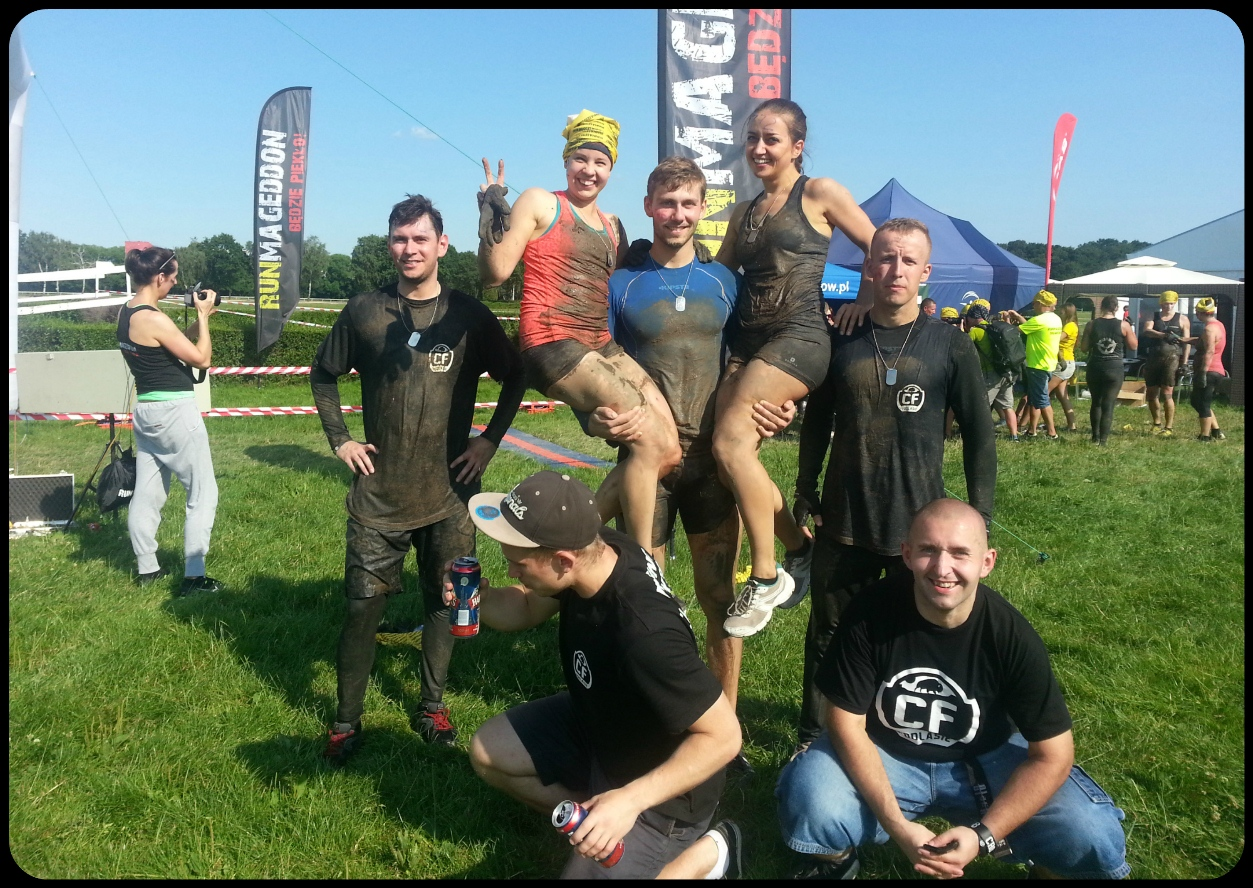 Runmageddon Rekrut 2014 Warszawa 8