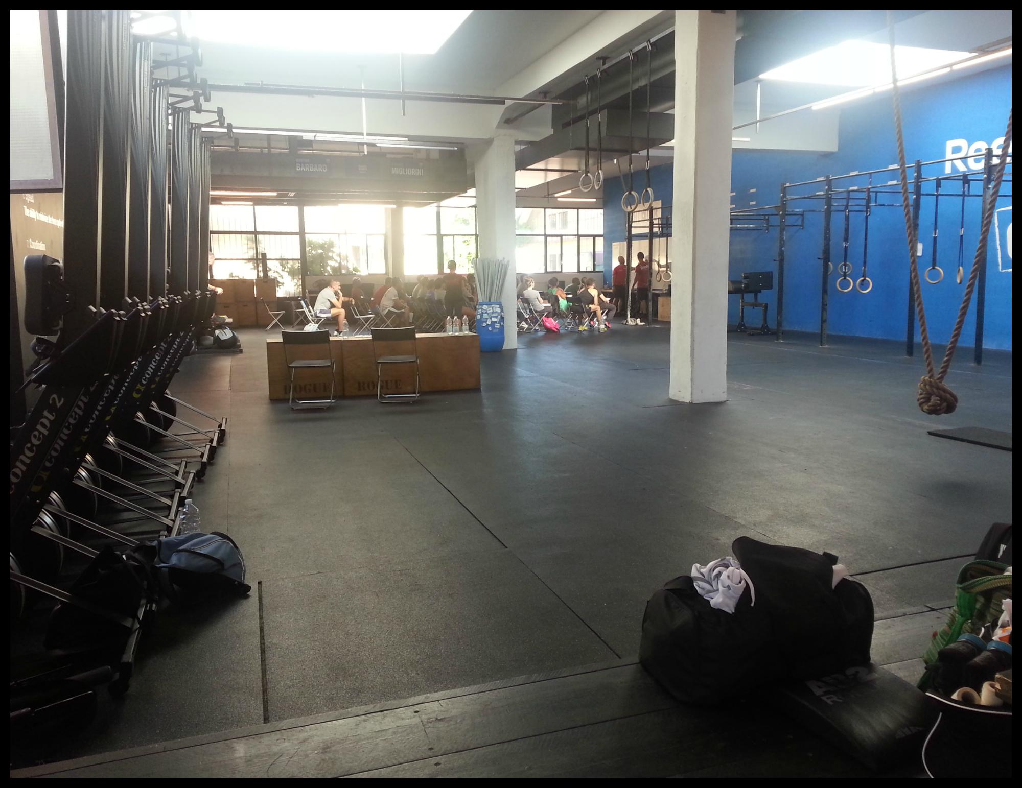 Mediolan CrossFit box 2