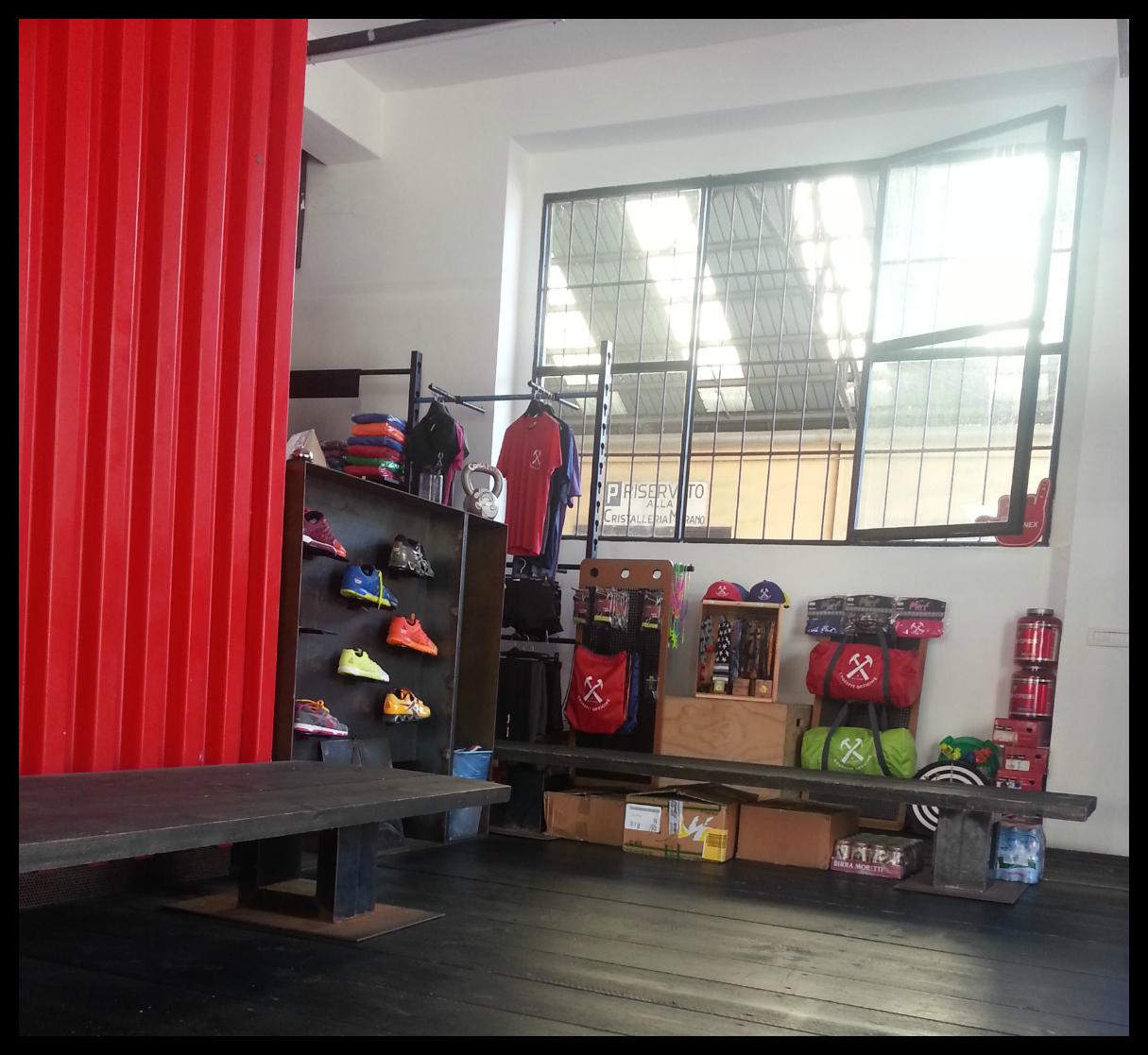 Mediolan CrossFit box 4