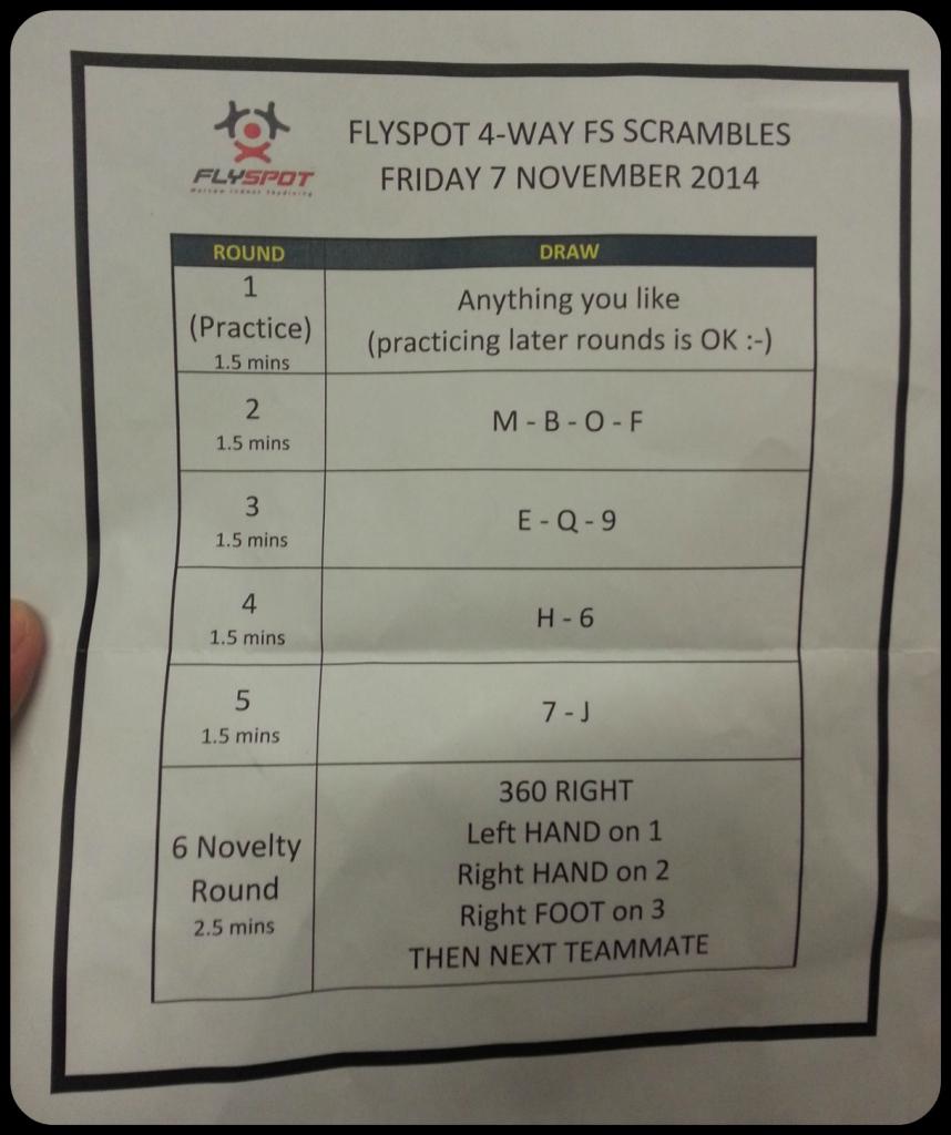 Flyspot Scramble 6