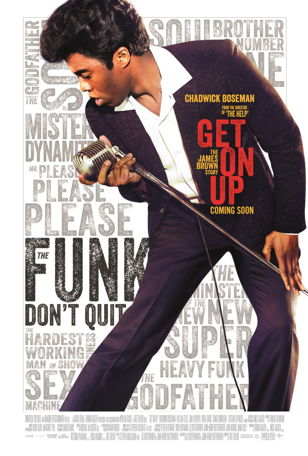Get On Up plakat