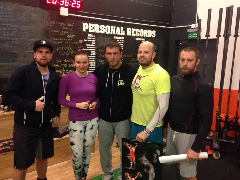 Dmitry Klokov szkolenie 5