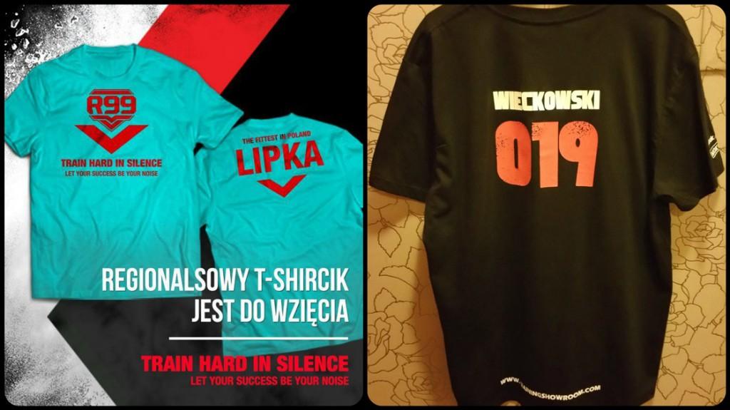 CrossFit Regionals  Kozak Lipka Wieckowski koszulki