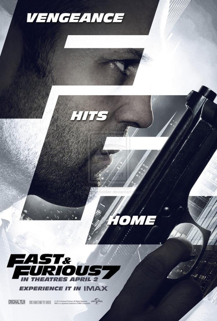 Fast Furious 7 plakat
