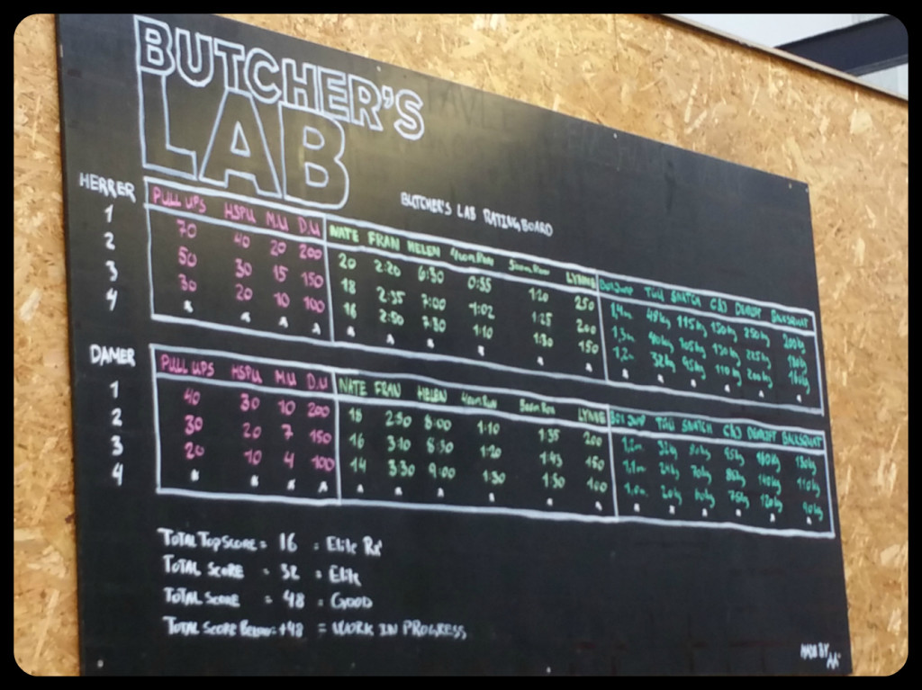 Butchers Lab 4
