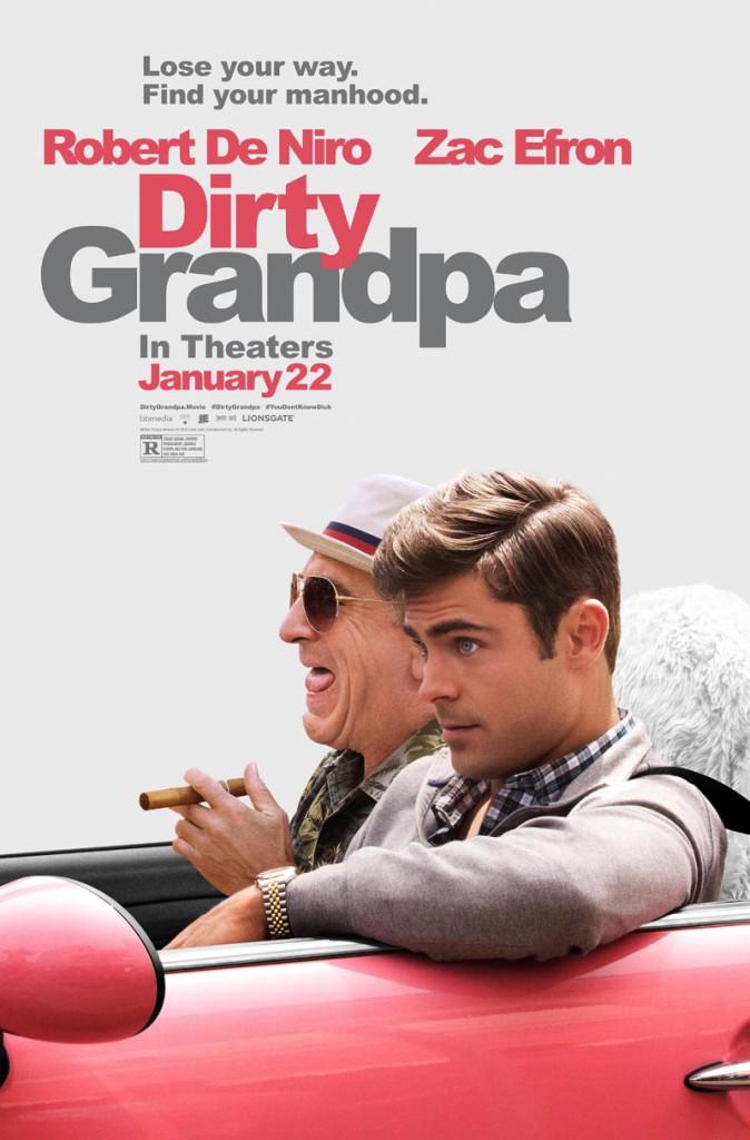 Dirty Grandpa plakat