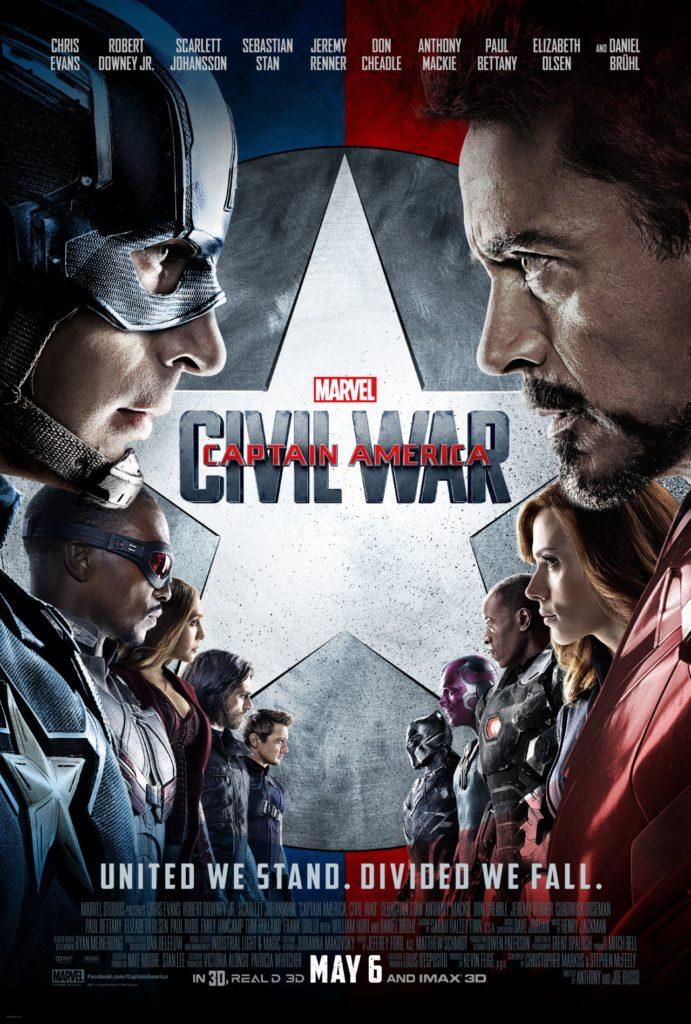 Kapitan Ameryka plakat