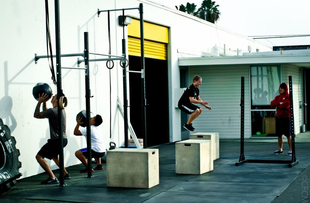 Outdoor CrossFit