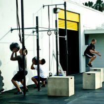 Outdoor CrossFit slider