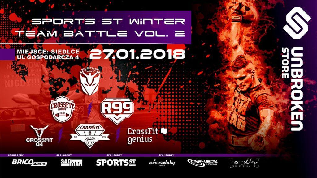 Sports ST Winter Team Battle vol. 2 @ Gospodarcza 4, Siedlce | Siedlce | mazowieckie | Polska