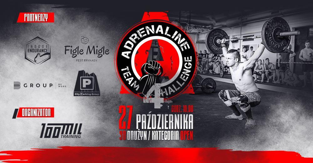 Adrenaline Team Challenge vol. IV @ Waryńskiego 32-36, Grudziądz | Grudziądz | kujawsko-pomorskie | Polska